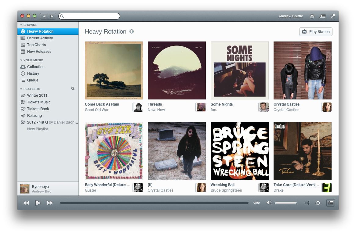 The new Rdio