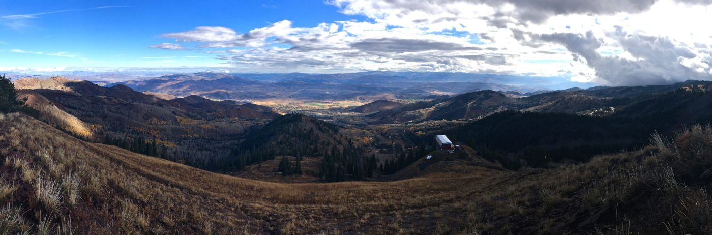 View from the summit.